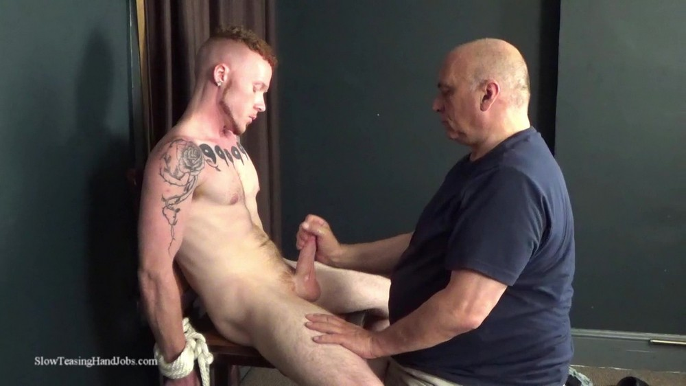 SlowTeasingHandjobs: Like Him Too Much to Let Him Cum