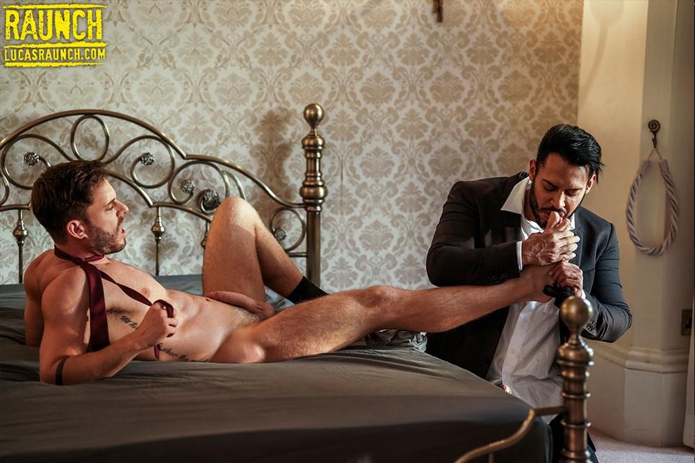 LucasRaunch: Viktor Rom Worships Manuel Reyes' Feet