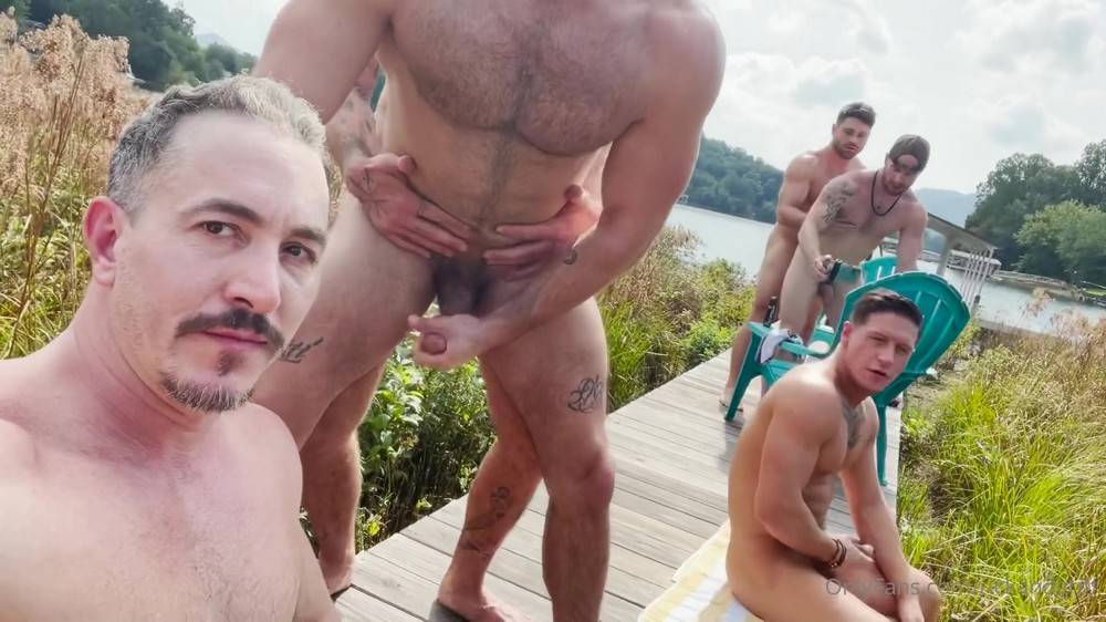 The Lake House Country Boys PART 2: SITTIN' ON THE DOCK WITH THE GAYS